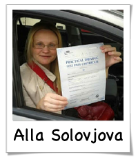 Alla Passed with Drive Ahead