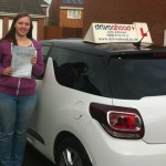 Rhiannon Bedford passed in Stoke on Trent